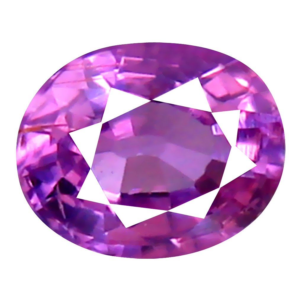 0.34 ct MAGNIFICENT OVAL CUT (4 X 4 MM) UNHEATED / UNTREATED NATURAL PINK SAPPHIRE LOOSE GEMSTONE