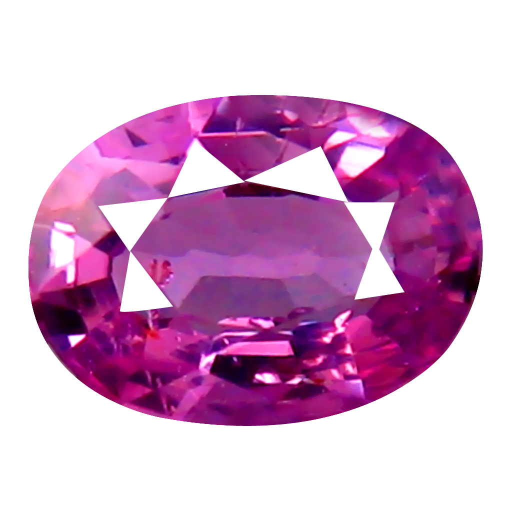 0.31 ct SPARKLING OVAL CUT (5 X 4 MM) UNHEATED / UNTREATED NATURAL PINK SAPPHIRE LOOSE GEMSTONE