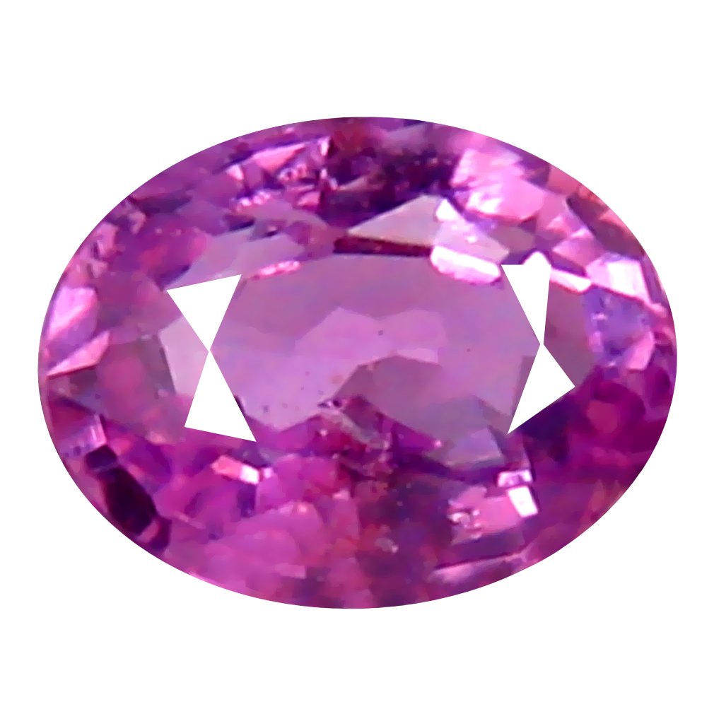 0.25 ct VALUABLE OVAL CUT (4 X 3 MM) UNHEATED / UNTREATED NATURAL PINK SAPPHIRE LOOSE GEMSTONE