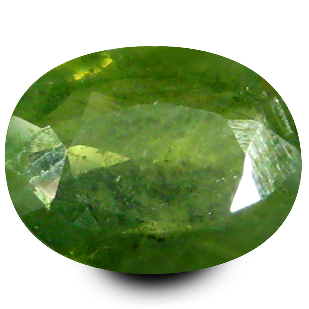 1.46 ct AAA Eye-catching Oval Shape (8 x 6 mm) Natural Green Sapphire Loose Stone