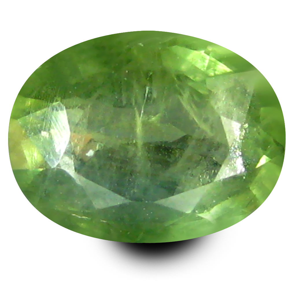0.91 ct AAA Good-looking Oval Shape (7 x 5 mm) Natural Green Sapphire Loose Stone