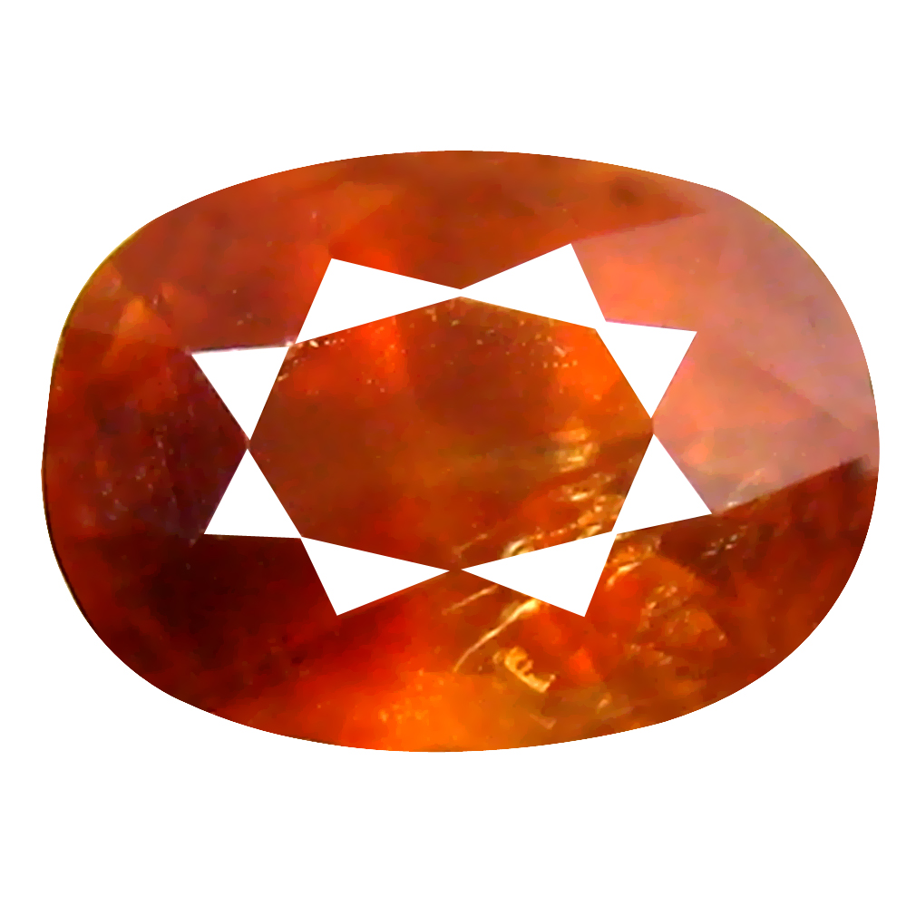 1.47 ct World class Oval Cut (7 x 5 mm) Un-Heated Honey Brown Sapphire Natural Gemstone