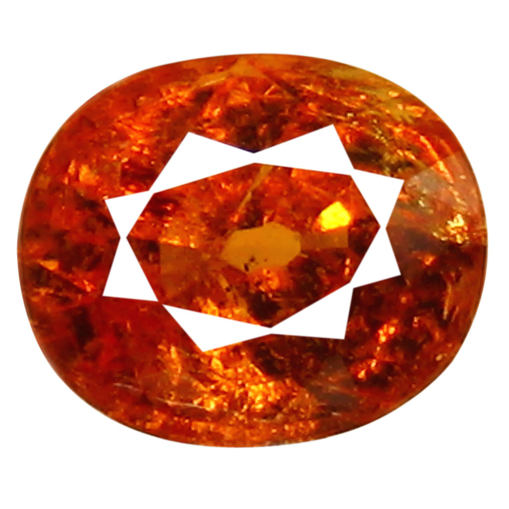 1.22 ct AAA Great looking Oval Shape (6 x 5 mm) Fanta Orange Spessartine Natural Gemstone