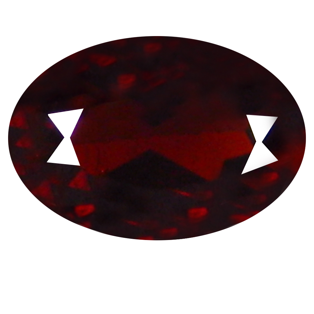 0.80 ct  Sparkling Oval Shape (7 x 4 mm) Orangy Red Spessartine Natural Gemstone