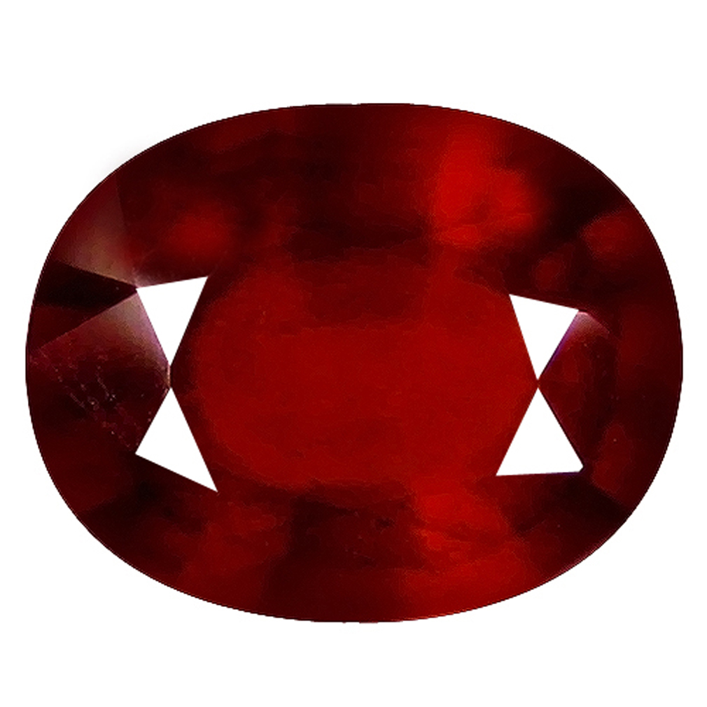 1.97 ct  First-class Oval Shape (8 x 7 mm) Orangy Red Spessartine Natural Gemstone