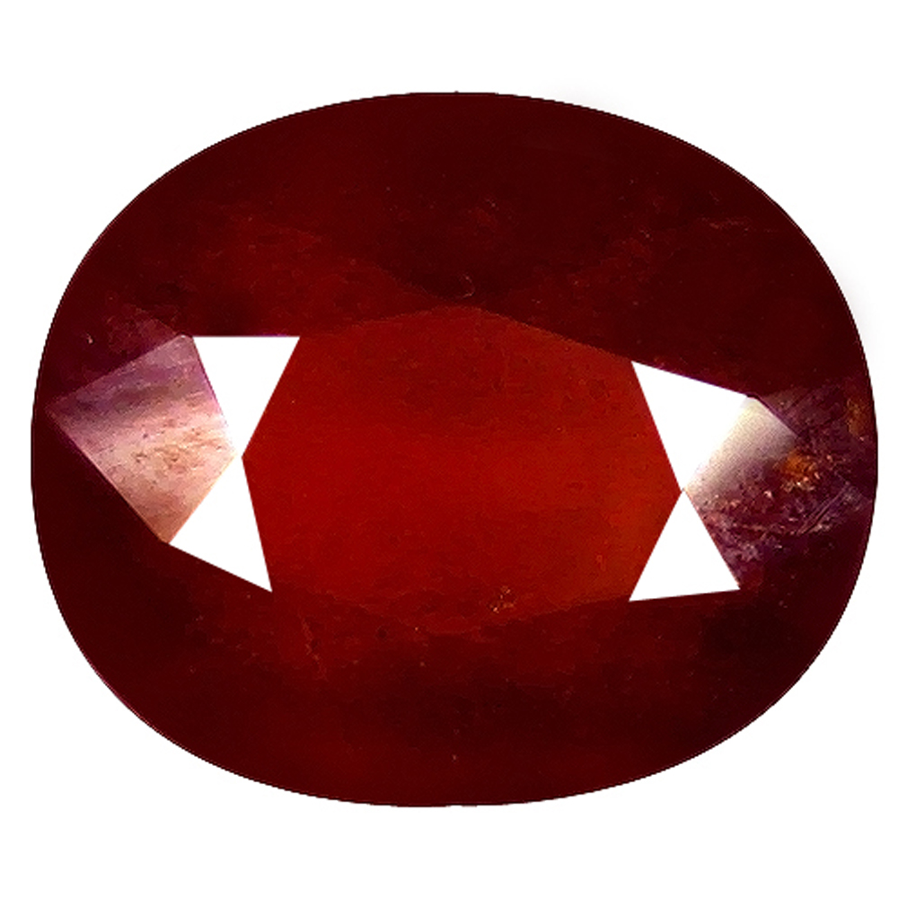 1.94 ct  Attractive Oval Shape (8 x 6 mm) Orangy Red Spessartine Natural Gemstone