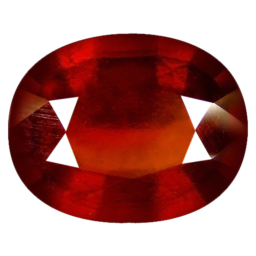 2.24 ct  First-class Oval Shape (8 x 7 mm) Orangy Red Spessartine Natural Gemstone