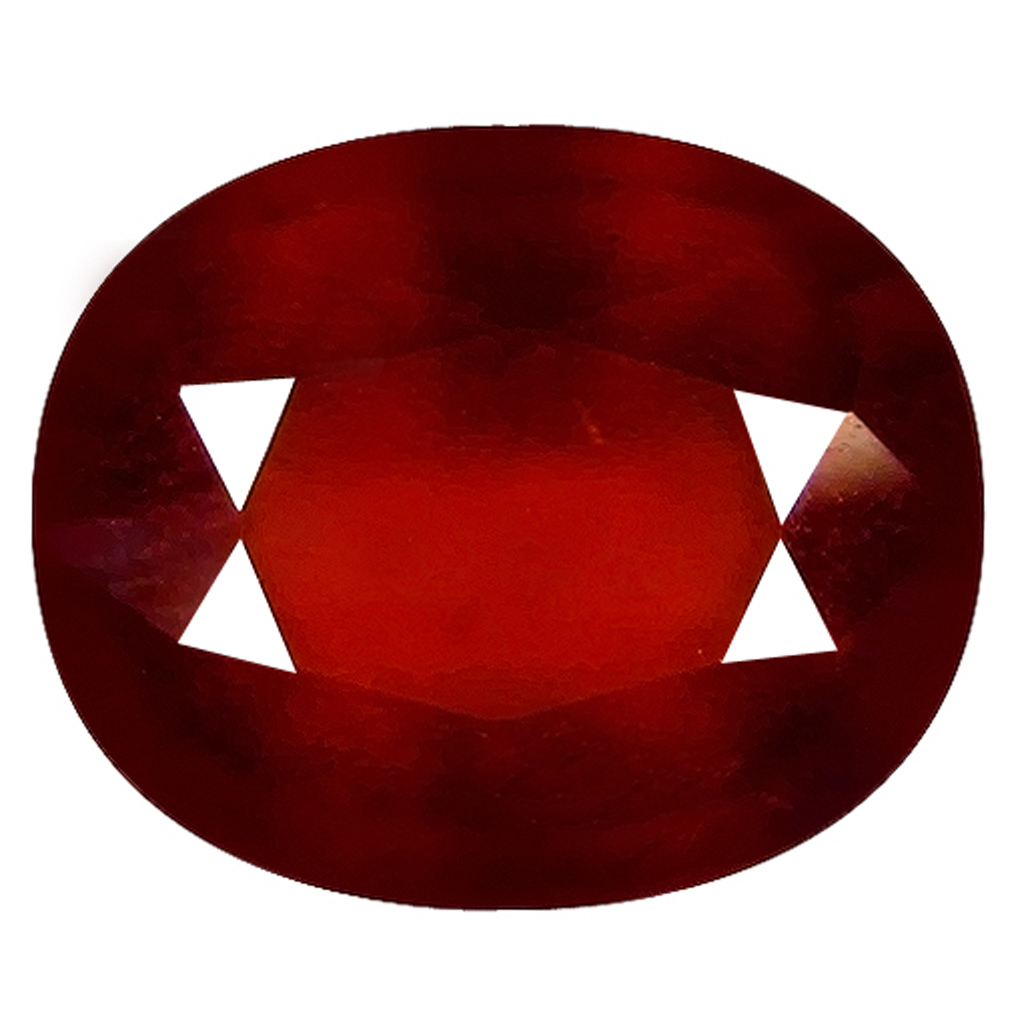 2.00 ct  Supreme Oval Shape (9 x 7 mm) Orangy Red Spessartine Natural Gemstone