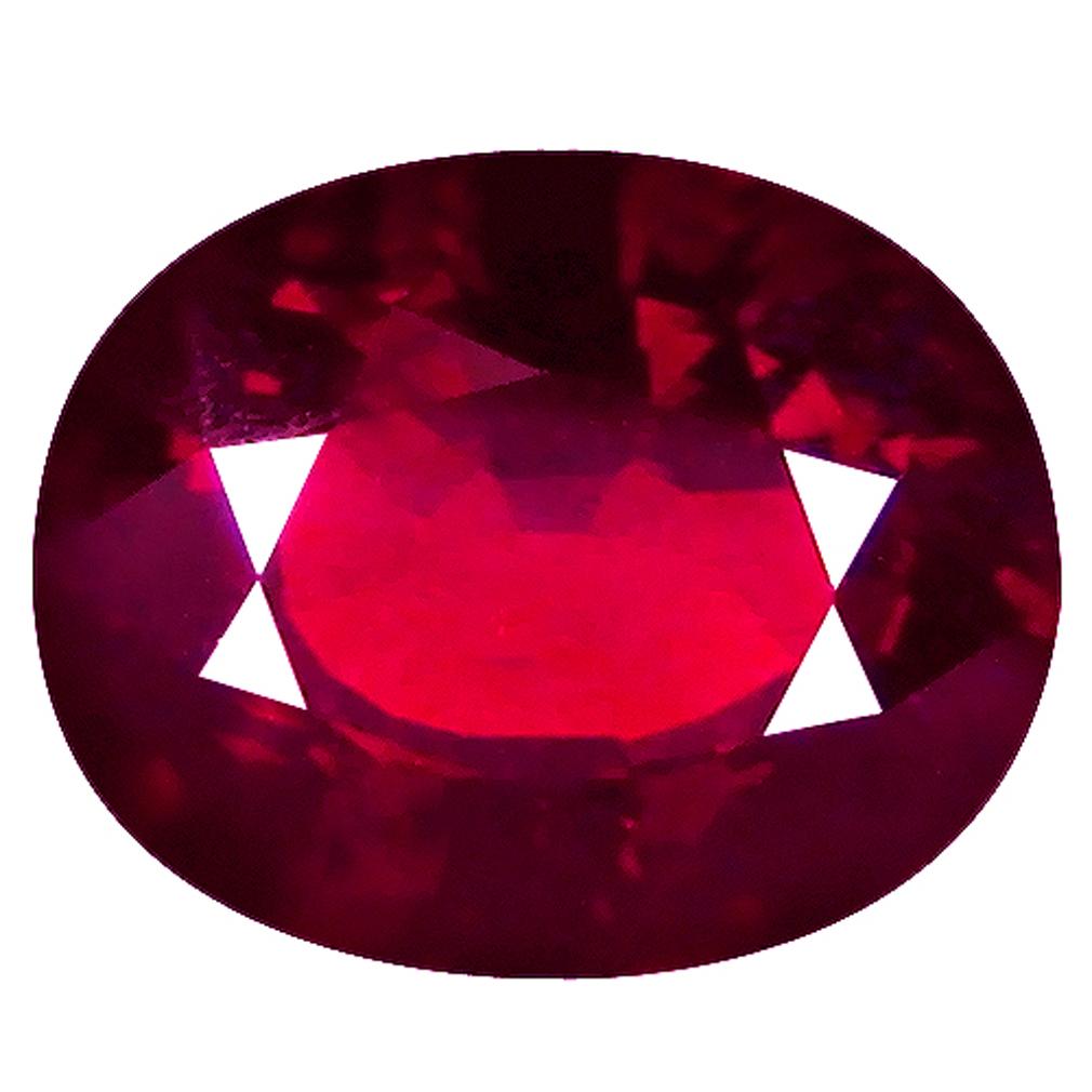 2.11 ct  Dazzling Oval Shape (9 x 7 mm) Orangy Red Spessartine Natural Gemstone