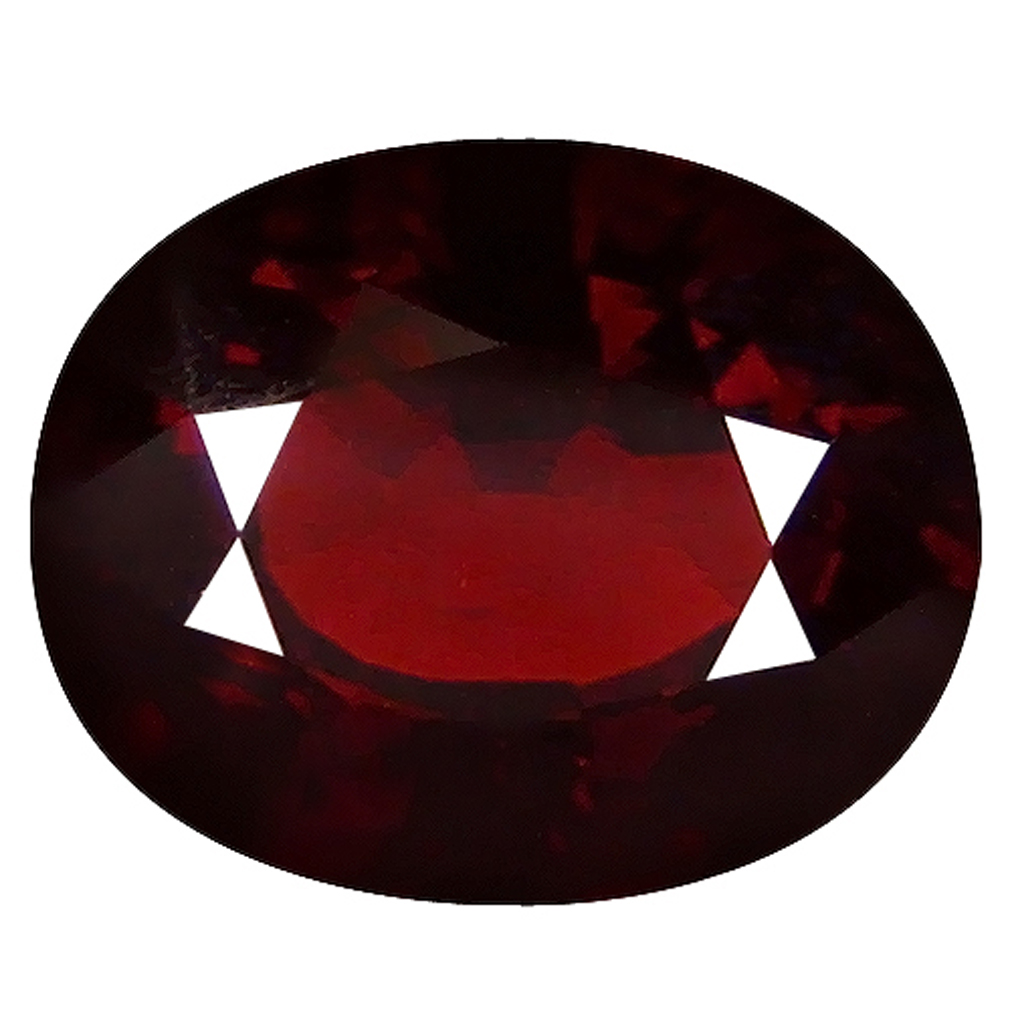 2.23 ct  Flashing Oval Shape (9 x 7 mm) Orangy Red Spessartine Natural Gemstone