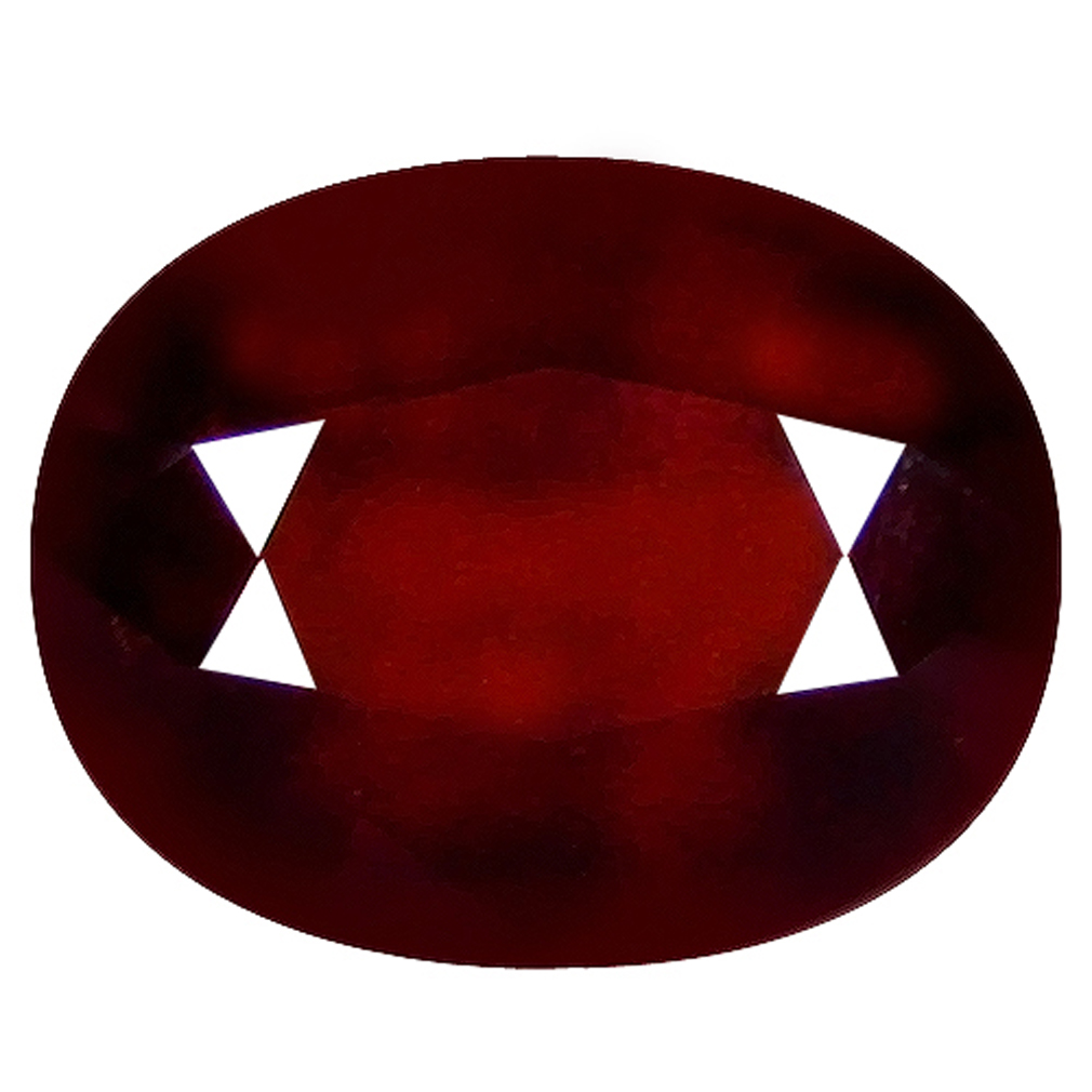 1.78 ct  First-class Oval Shape (8 x 6 mm) Orangy Red Spessartine Natural Gemstone