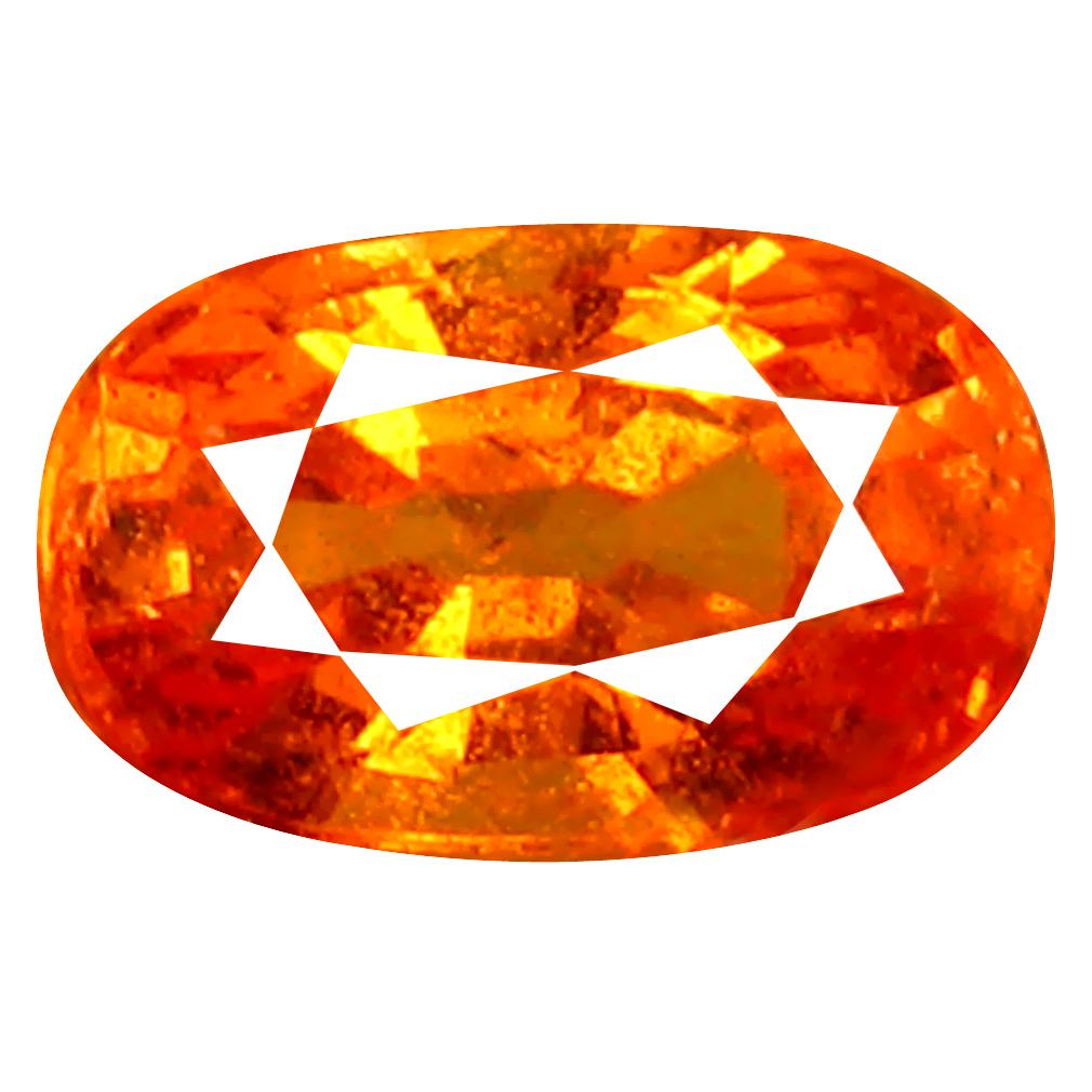 1.08 ct AAA+ Amazing Oval Shape (7 x 4 mm) Fanta Orange Spessartine Natural Gemstone