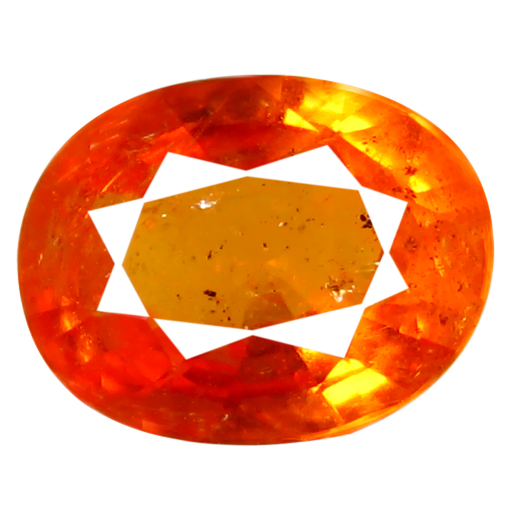0.98 ct AAA Lovely Oval Shape (7 x 5 mm) Fanta Orange Spessartine Natural Gemstone