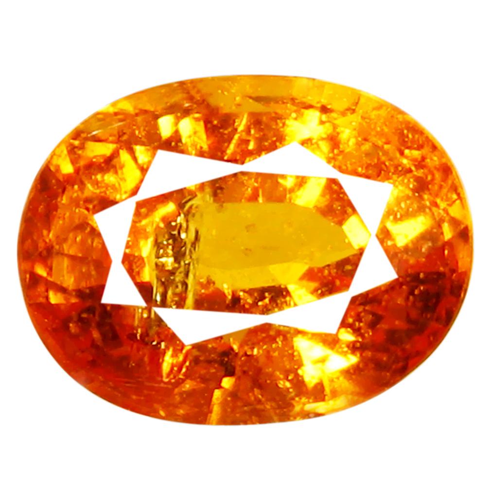 1.25 ct AAA Lovely Oval Shape (7 x 5 mm) Fanta Orange Spessartine Natural Gemstone