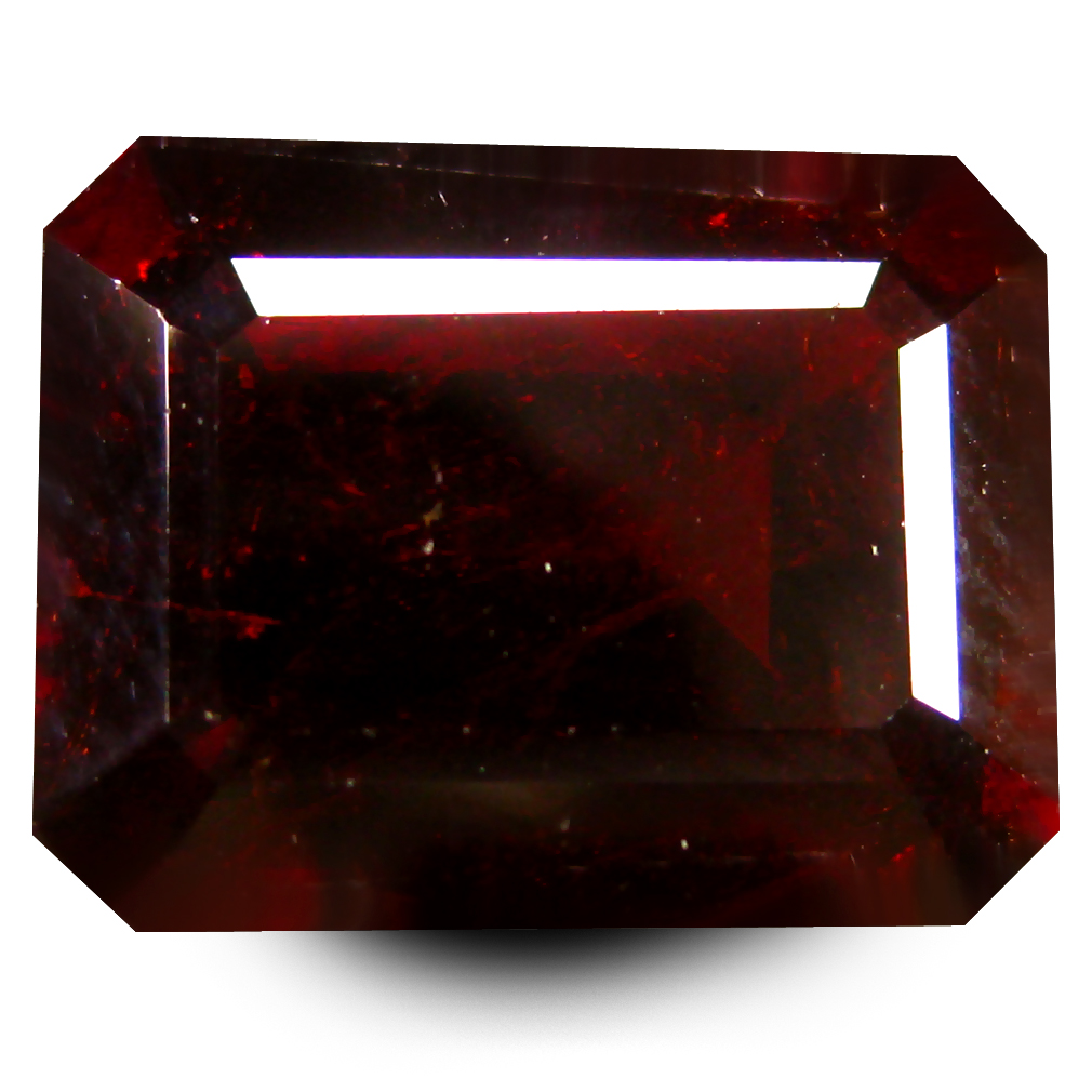 8.72 ct  Best Octagon Shape (13 x 10 mm) Orangy Red Spessartine Natural Gemstone