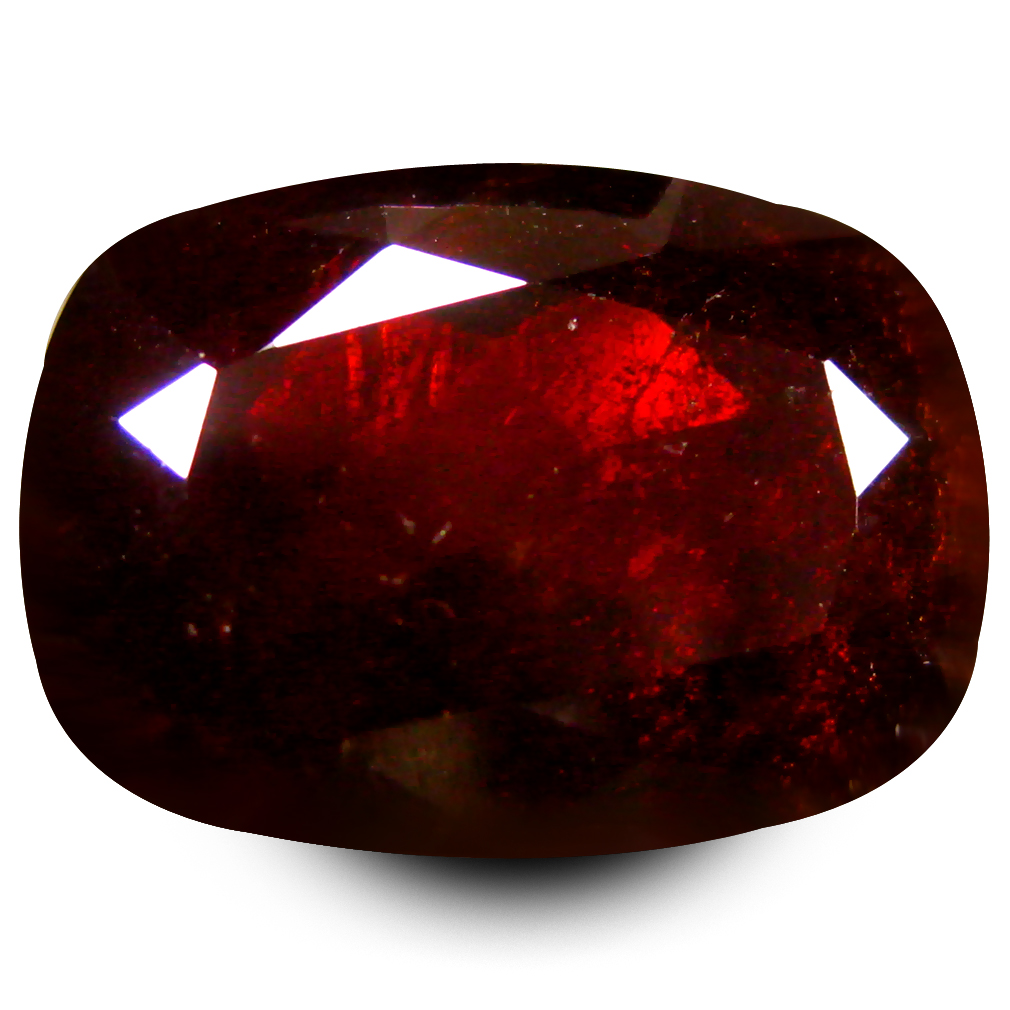 7.55 ct  Incomparable Octagon Shape (13 x 9 mm) Orangy Red Spessartine Natural Gemstone