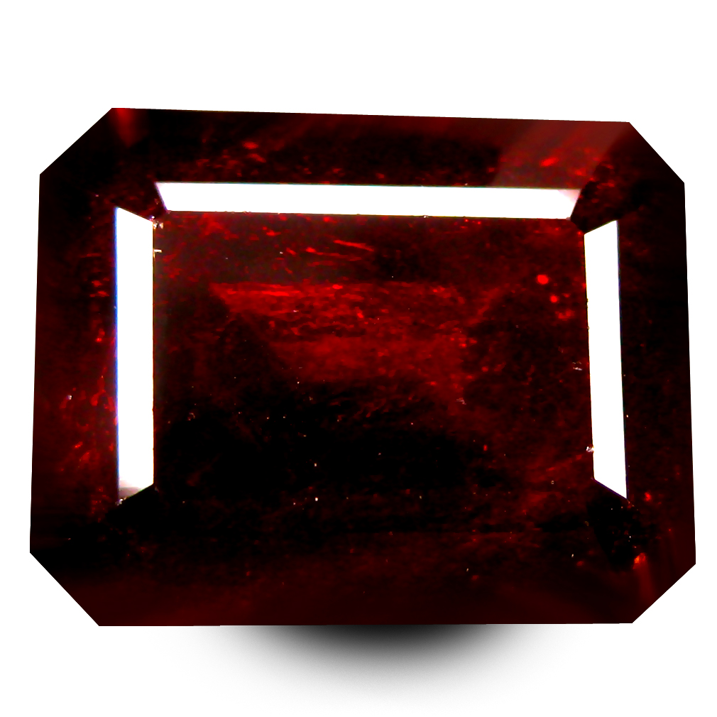 10.89 ct  Grand looking Octagon Shape (12 x 10 mm) Orangy Red Spessartine Natural Gemstone