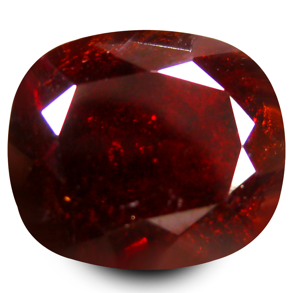 5.95 ct  Unbelievable Octagon Shape (11 x 9 mm) Orangy Red Spessartine Natural Gemstone