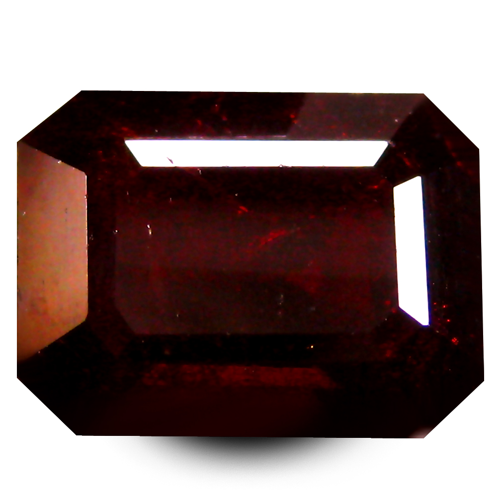 2.58 ct  Excellent Octagon Shape (8 x 6 mm) Orangy Red Spessartine Natural Gemstone