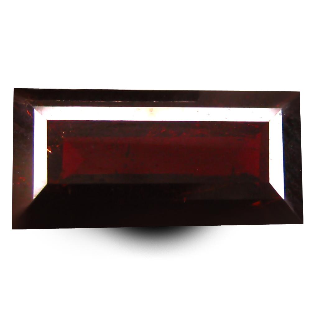 2.98 ct  Tremendous Octagon Shape (12 x 6 mm) Orangy Red Spessartine Natural Gemstone