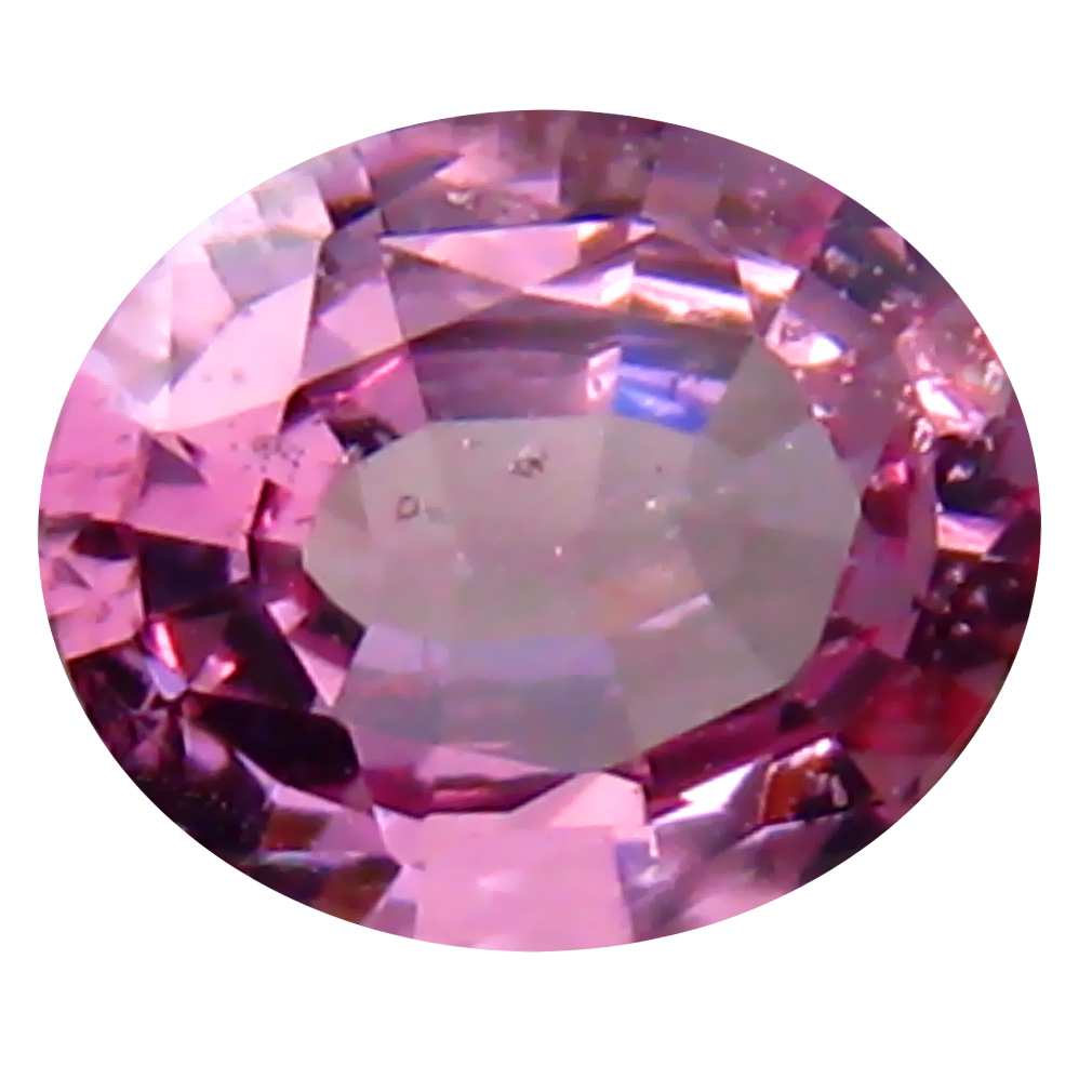 0.70 ct Incredible Oval (6 x 5 mm) Unheated / Untreated Tanzania Pink Spinel Loose Gemstone