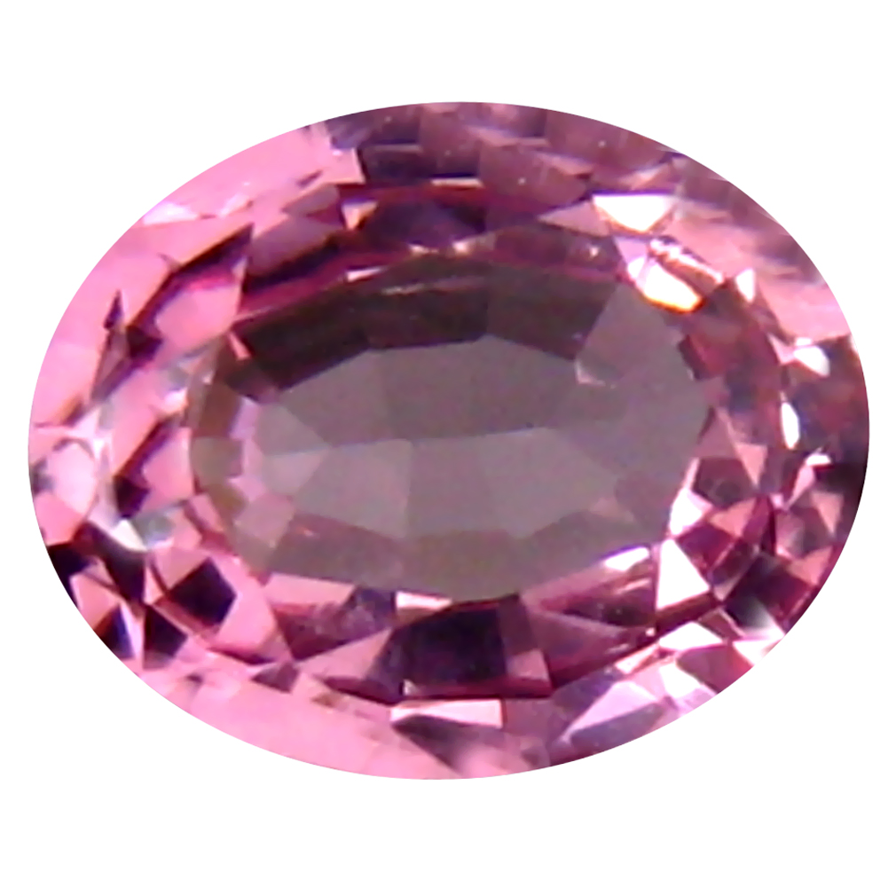 0.47 ct Outstanding Oval (5 x 4 mm) Unheated / Untreated Tanzania Pink Spinel Loose Gemstone