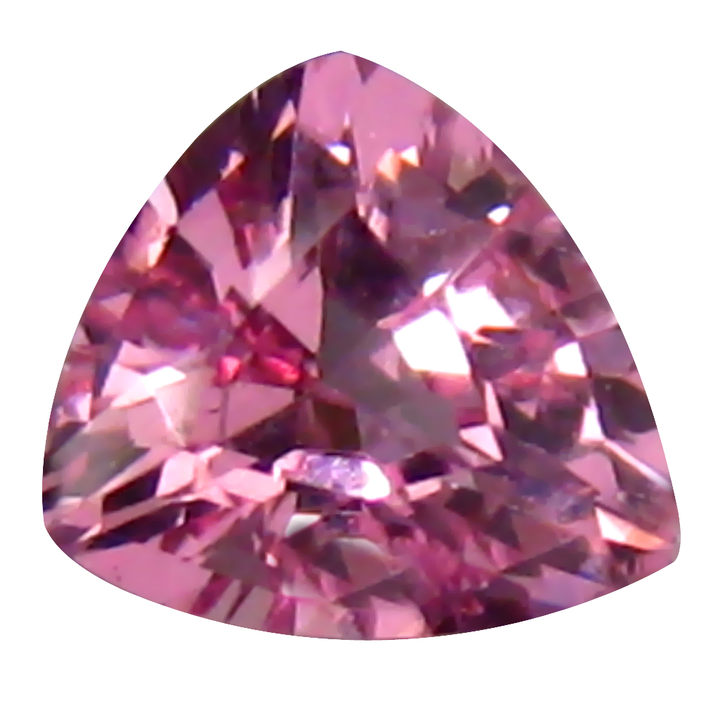 0.27 ct First-class Trillion (4 x 4 mm) Unheated / Untreated Tanzania Pink Spinel Loose Gemstone