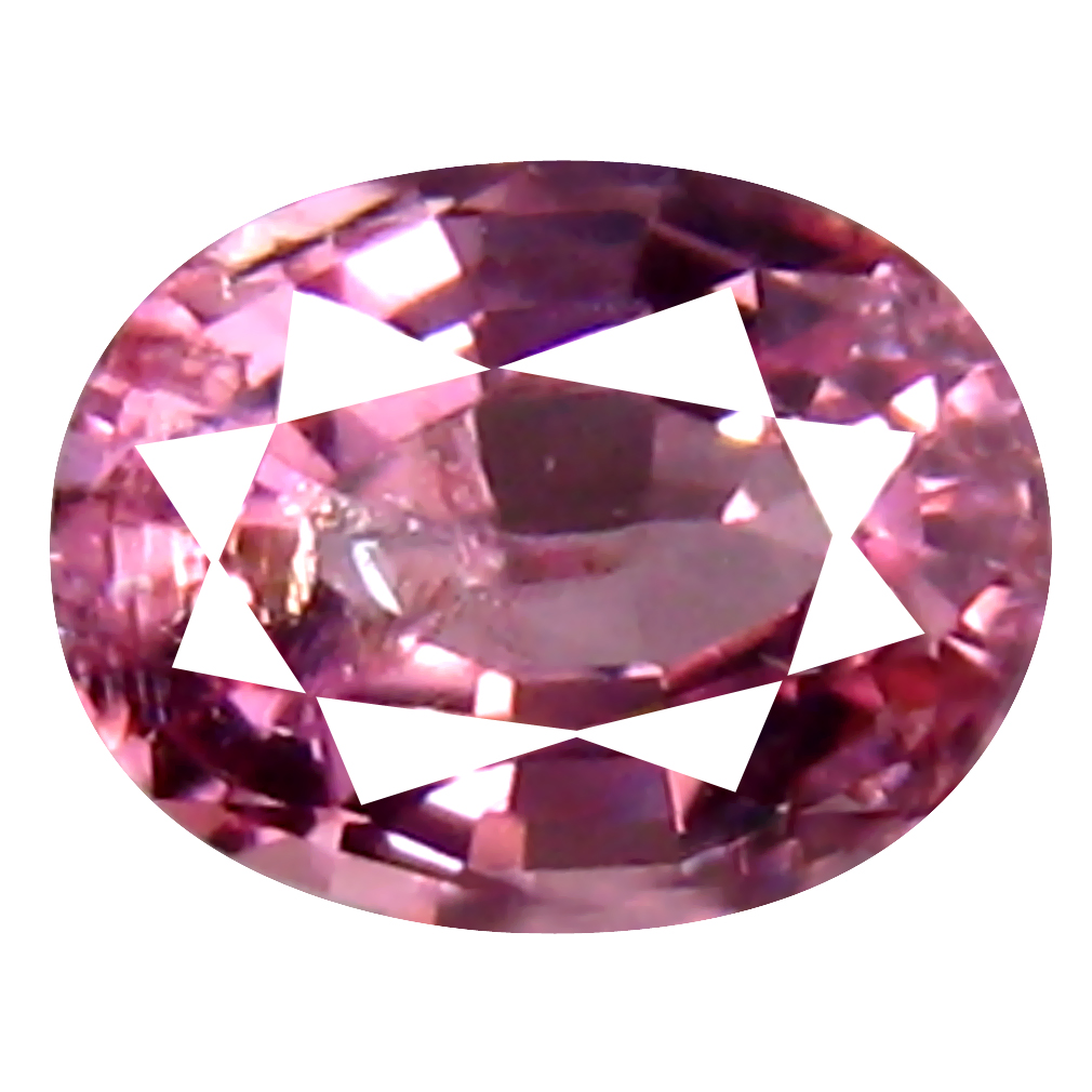 0.48 ct Very good Oval (5 x 4 mm) Unheated / Untreated Tanzania Pink Spinel Loose Gemstone