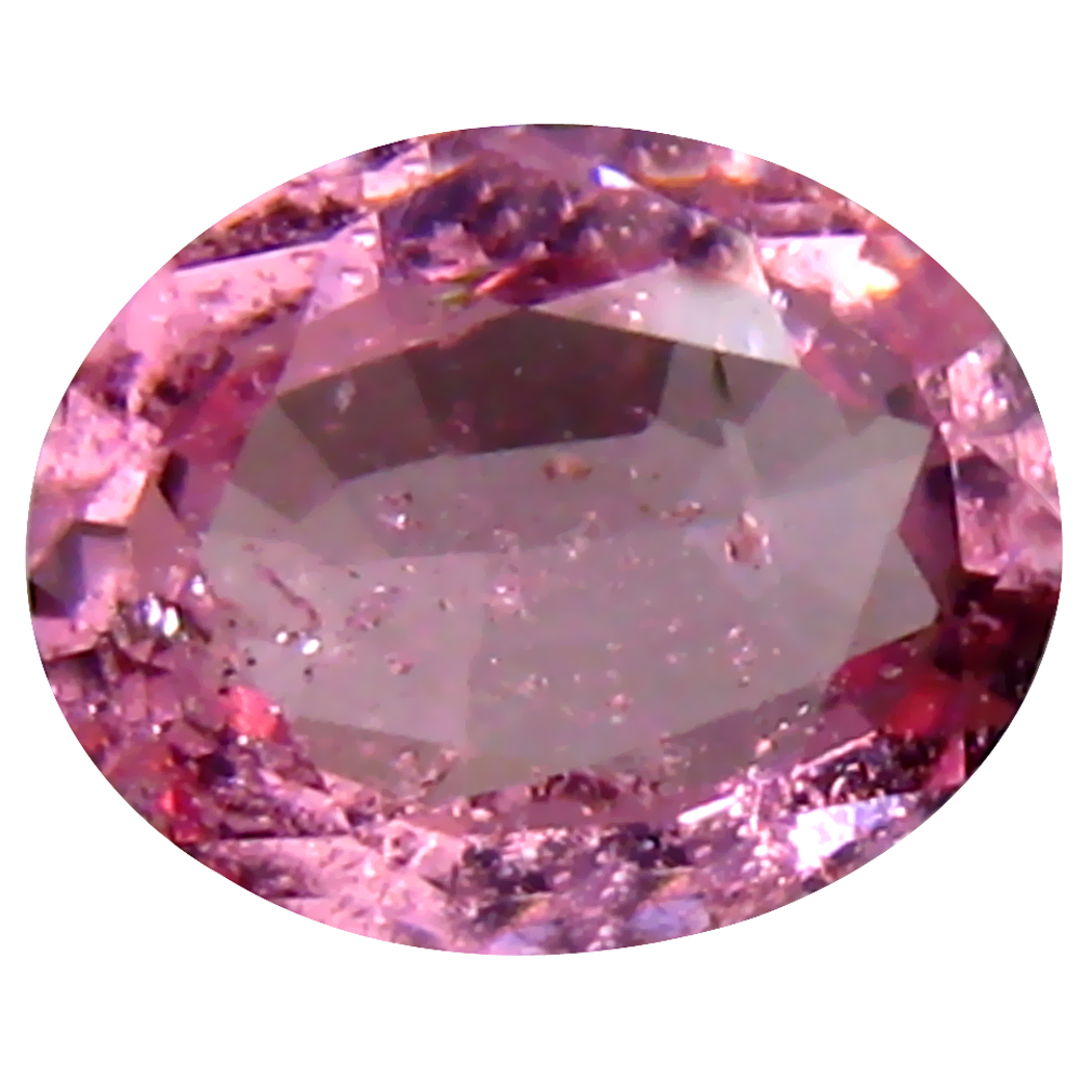 0.63 ct Elegant Oval (6 x 5 mm) Unheated / Untreated Tanzania Pink Spinel Loose Gemstone