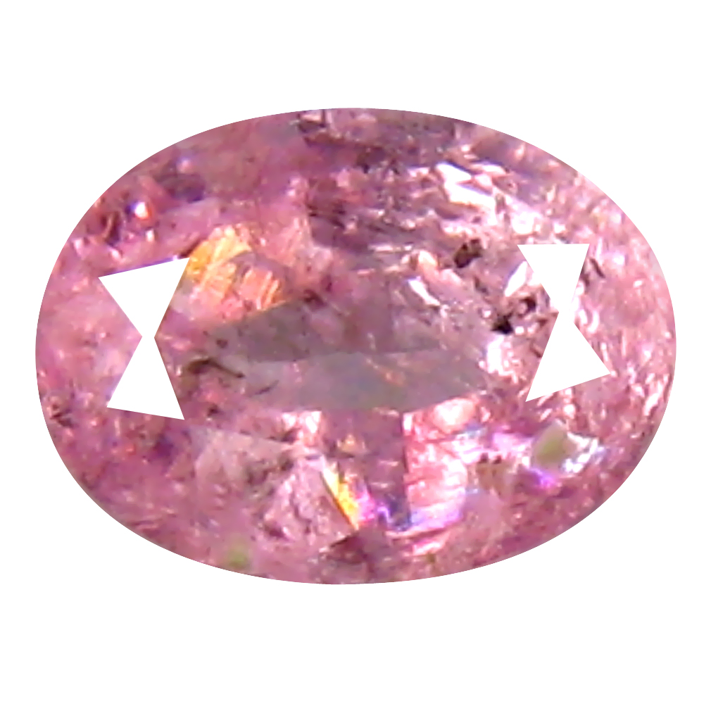 0.38 ct Charming Oval (5 x 4 mm) Unheated / Untreated Tanzania Pink Spinel Loose Gemstone