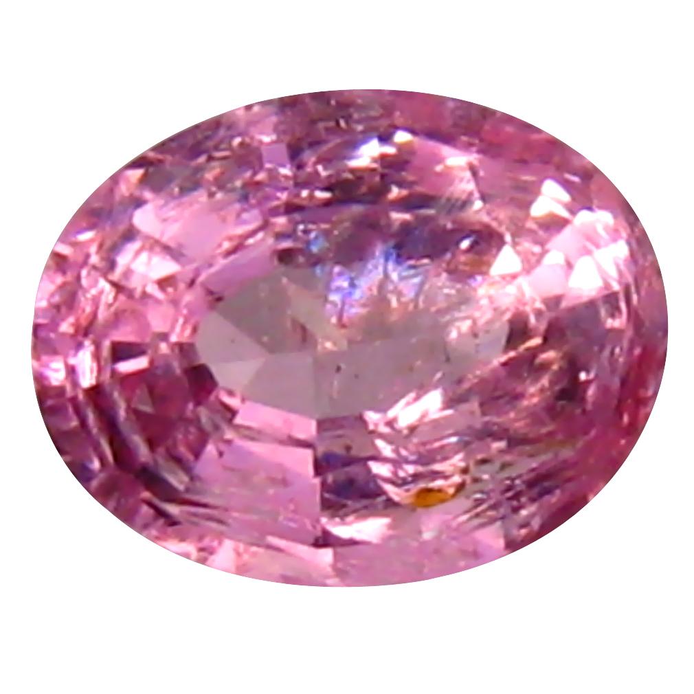0.45 ct Astonishing Oval (5 x 4 mm) Unheated / Untreated Tanzania Pink Spinel Loose Gemstone