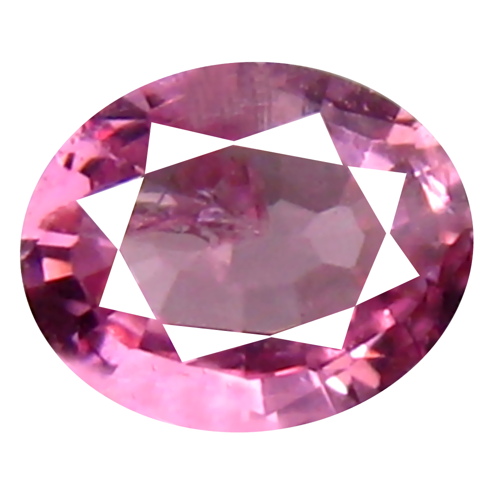 0.30 ct Sparkling Oval (5 x 4 mm) Unheated / Untreated Tanzania Pink Spinel Loose Gemstone