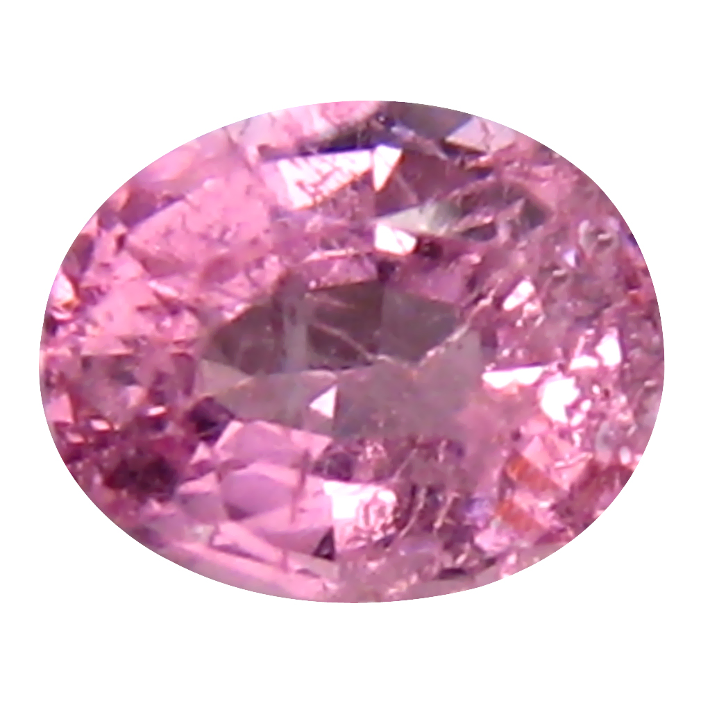 0.42 ct Resplendent Oval (5 x 4 mm) Unheated / Untreated Tanzania Pink Spinel Loose Gemstone