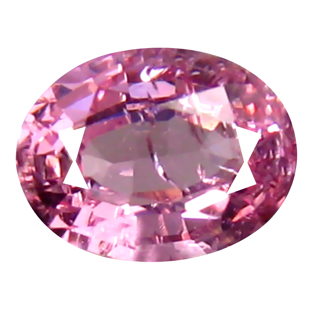 0.43 ct First-class Oval (5 x 4 mm) Unheated / Untreated Tanzania Pink Spinel Loose Gemstone