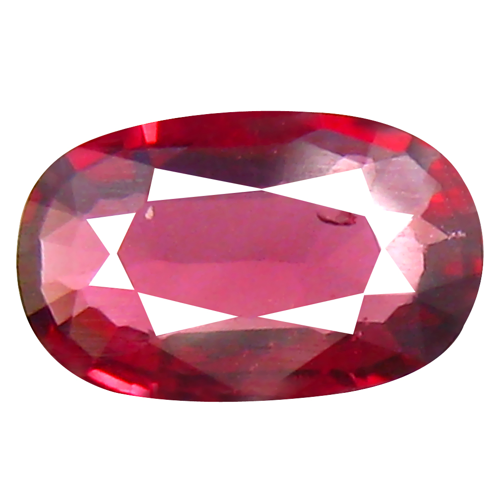 0.40 ct Amazing Oval Cut (7 x 4 mm) Tanzanian Red Spinel Loose Gemstone