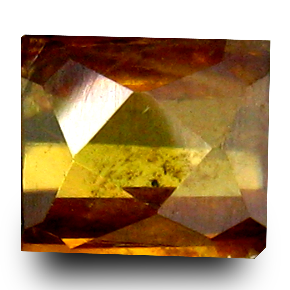 0.90 ct Lovely Cushion Cut (6 x 5 mm) Un-Heated Natural Sphene Loose Gemstone