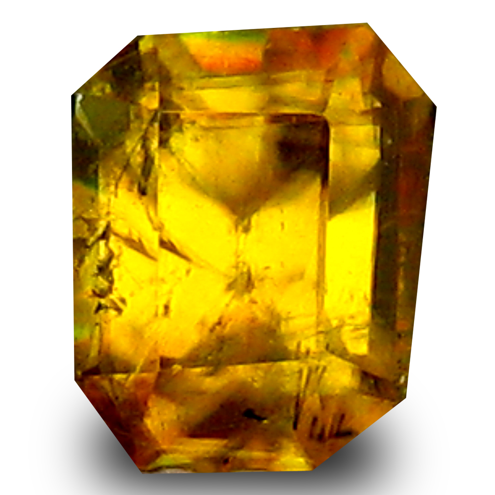 0.59 ct Wonderful Cushion Cut (5 x 4 mm) Un-Heated Natural Sphene Loose Gemstone