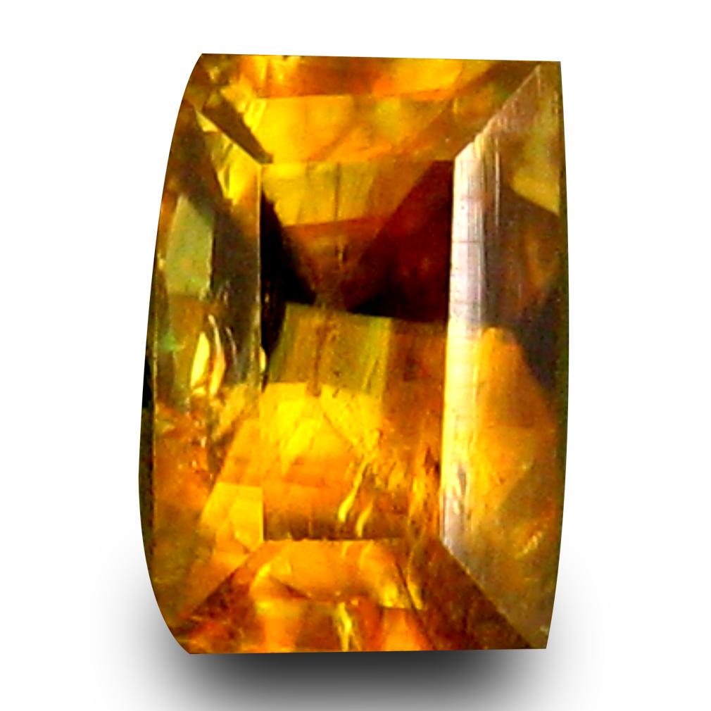 0.93 ct First-class Cushion Cut (7 x 5 mm) Un-Heated Natural Sphene Loose Gemstone