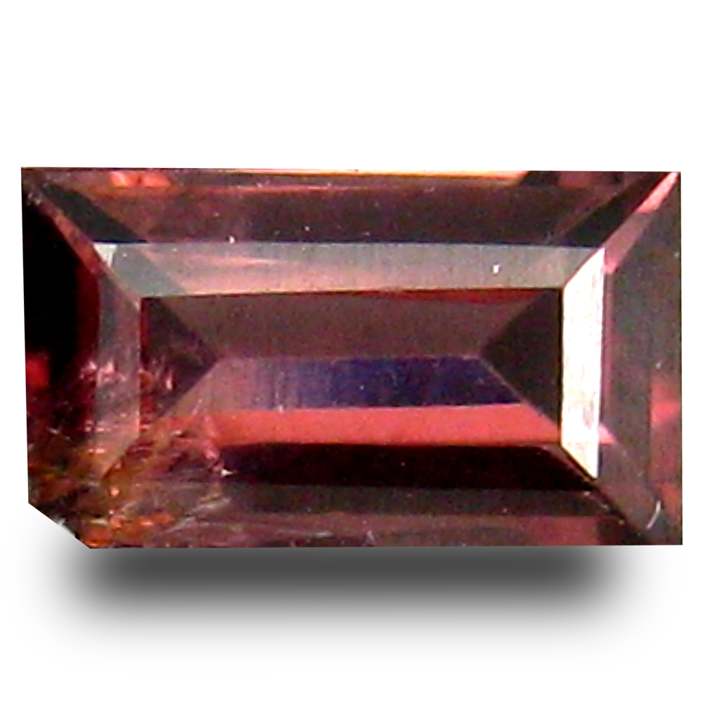 0.76 ct AAA+ Lovely Emerald Cut (7 x 4 mm) Purple Spinel Natural Gemstone