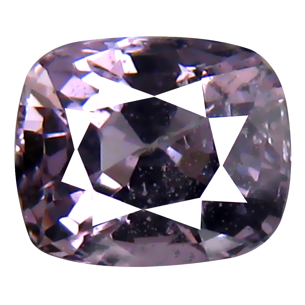 1.00 ct AAA+ Attractive Cushion Shape (6 x 5 mm) Purple Spinel Natural Gemstone