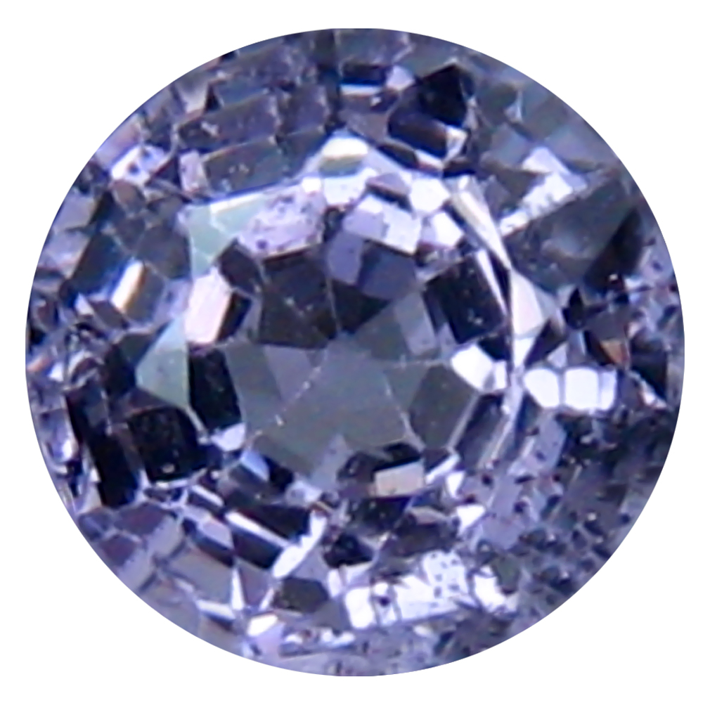 0.82 ct Attractive Round (5 x 5 mm) Un-Heated Tanzania Spinel Loose Gemstone