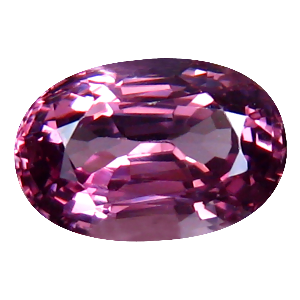 1.15 ct Five-star Oval (8 x 5 mm) Un-Heated Tanzania Spinel Loose Gemstone