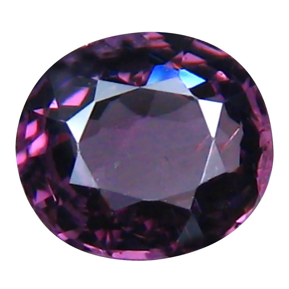 1.08 ct Outstanding Oval (6 x 6 mm) Un-Heated Tanzania Spinel Loose Gemstone