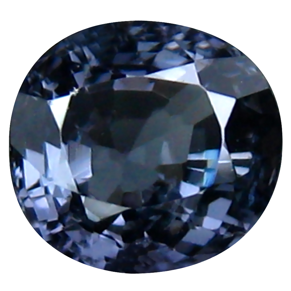 1.16 ct Attractive Oval (6 x 6 mm) Un-Heated Tanzania Spinel Loose Gemstone