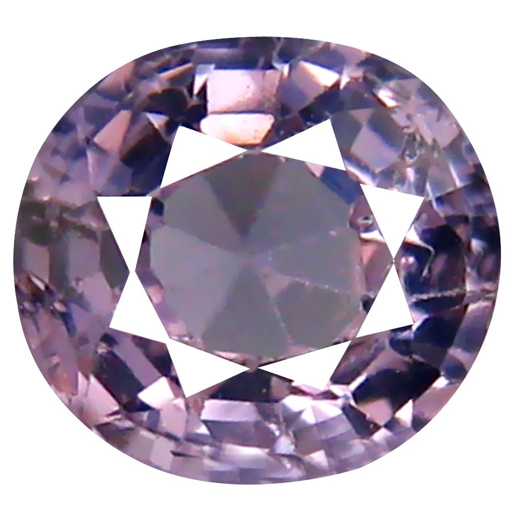 0.89 ct Premium Oval Cut (6 x 6 mm) Ceylon Spinel Genuine Loose Gemstone