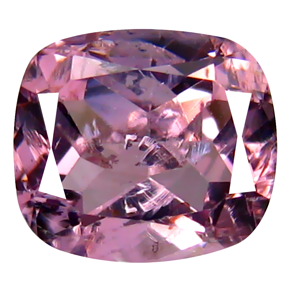1.08 ct Tremendous Cushion Cut (7 x 6 mm) Ceylon Spinel Genuine Loose Gemstone