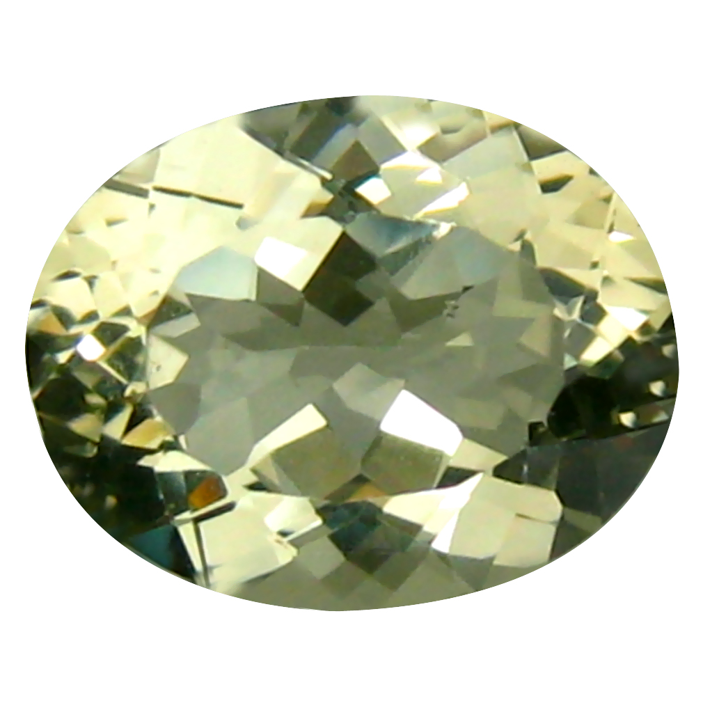1.71 ct Outstanding Oval (9 x 7 mm) 100% Natural Brazil Green Beryl Loose Gemstone
