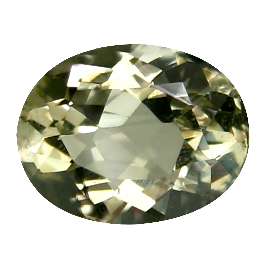1.55 ct Supreme Oval (9 x 7 mm) 100% Natural Brazil Green Beryl Loose Gemstone