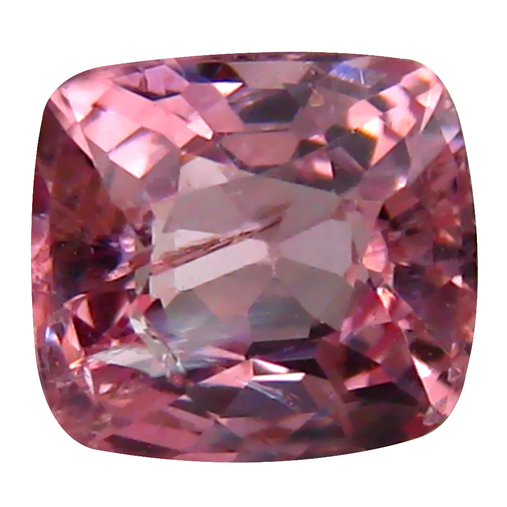 0.88 ct AAA+ Superior Cushion Shape (6 x 5 mm) Fancy Purplish Pink Spinel Natural Gemstone