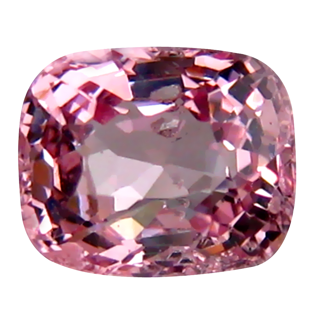 0.75 ct AAA+ Incredible Cushion Shape (5 x 5 mm) Fancy Light Purple Spinel Natural Gemstone